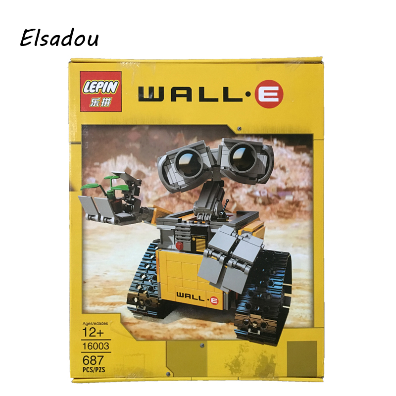 Elsadou  #16003 Wall E Robot Model Building Kits Block<br>