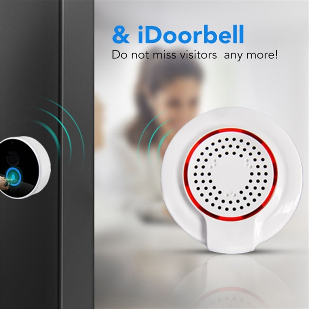 Audible And Visual Alarm Remote Notication Control Z-wave Security Wireless Alarm Siren Sensor Home Automation Smart Alarm<br>