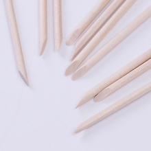 10Pcs ORANGE Wood Stick for Nail Art Rhinestone Remover Tool Useful Dotting Tool for Nail Art(China)