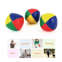 Juggling Balls Set Classic Bean Bag Juggle Magic Circus Beginner Children Kids Toy Balls Kids Interactive Toys