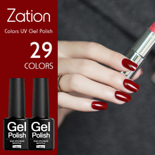 Zation Nail Gel French Manicure Art Polish Primer Colorful Enamel UV Gel Polish ED Lamp Gel Polish Lacquer Varnish(China)
