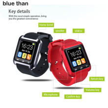 Blue Than Smartwatch Bluetooth Smart Watch U8 WristWatch digital sport watches for IOS Android Smart phone Wearable Electronic D