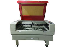 1280 80w CO2 laser engrave and cut machine used for ABS , acrylic and other non-metallic materials