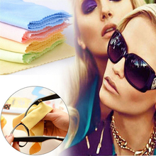New Microfiber Phone Screen Camera Lens Glasses Cleaner Cleaning Cloth Other Vision Care Color Effective(China)