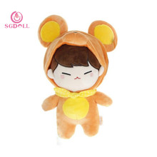 "KPOP Infinite Kim SungGyu 30cm/12"" Mouse Animal Model Plush Toy Stuffed Doll Handmade Gift Fans Collection 17062717"