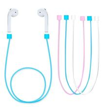 Buy Airpods Straps Neck Cable Connector iPhone7 Wire Wireless Earphone Anti Lost Rope Lanyard Compact Durable New Hot for $1.69 in AliExpress store
