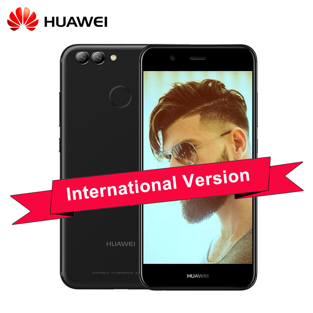 Original Huawei Nova 2 4GB RAM 64GB ROM 20.0MP Front Camera Mobile Phone 5.0 inch Kirin 659 Octa Core Android 7.0 Dual SIM(China)