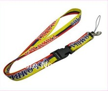 wholesale promotion lanyard  custom logo print  neck strap   cheap sports promotion fashion lanyards design your own logo