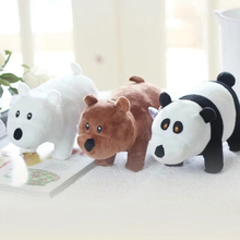 1PC 22m We Bare bears Cartoon Bear Plush Doll Toy grizzly bear panda stuffed plush doll kids birthday gift