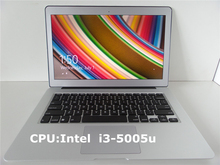 2016 NEW Free Shipping high quality 13.3 inch laptop ultrabook with windows 7 or 8.1,2GB RAM+32G HDD add SSD 64G/128G/256G SSD(China)