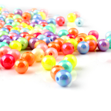 100pcs Multi Color ABS Imitation Pearls Beads Making jewelry diy beads 6mm/ 8mm Jewelry Handmade necklace