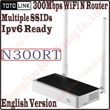 TOTOLINK N300RT Dual Access Wireless N 300Mbps WiFi Router WiFi Repeater Supports VLAN, QoS, Multiple SSIDs WiFi Schedule PROM-