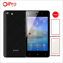 IPRO WAVE 4.0II Celular Android 5.1 Smartphone Quad-core 512M RAM 4GB ROM Dual SIM Cell Mobile Phones with Phone Case + Film