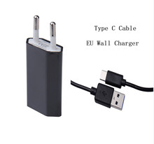 Wall Plug Charger With Type-C Cable for Huawei P9 P9 plus Samsung Galaxy S8 Xiaomi 4c M5 Dual Wall Plug Charger Type-c Cable