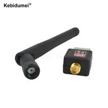 Kebidumei 150Mbps 150M Wifi Adapter USB 2.0 WiFi Antenna Wireless Network Card 802.11b/g/n LAN Wi-Fi LAN Adaptor(China)