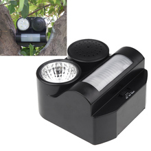 Hot Humane Protective Black Ultrasonic Sonic Harmless Sound Flashlight Birds Repeller Driving Controller