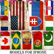 Case Cover For Apple iphone 4 4s 5 5s 5se 6 6s 6s 6s plus SE Cases Phone Cover Bag soft TPU Plastic USA UKRAIN SPAIN FRANCE Flag