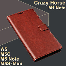 MeiZu M5 Note m 5 case leather MeiZu M1 Note case High quality case for MeiZu M5 mini/M5s flip leather M5 C Meizu M5C case A5