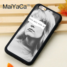 MaiYaCa fire walk with me twin peaks Printed Luxury Mobile Phone Cases OEM For iPhone 6 6S Plus 7 Plus 5 5S SE Soft Rubber Cover(China)