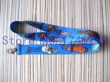 Retail 1 pcs Popular Cartoon  Scooby Doo Straps Lanyard  ID Badge Holders Mobile Neck Key chains For Party Gift PO-57
