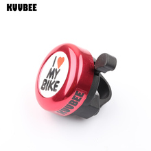 KUUBEE(200Pcs/Lot) Bike Aluminum Bells Retro Medal Bicycle Rings Handlebar Alarms Bike Accessories Equipment Timbre Bicicleta