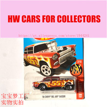 New Arrivals 2017 Hot 1:64 Car wheels 55 Chevy Bel Air Gasser Metal Diecast Cars Collection Kids Toys Vehicle For Children