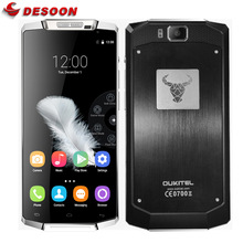 Case+Film)Gifts!Oukitel K10000 Mobile Phone 4G Android 5.1 Lollipop 5.5 inch 10000mAh Battery 2GB+16GB ROM 720P 13MP Smartphone(China)