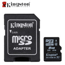 Kingston Class 4 8GB Micro SD Card Memory Card 8 GB Microsd Cartao de Memoria Tarjeta Micro SD Carte TF Card with Adapter