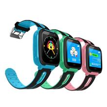children's waterproof smart watch phone GPS positioning watch mobile phone message positioning positioning micro-chat clock Touc(China)