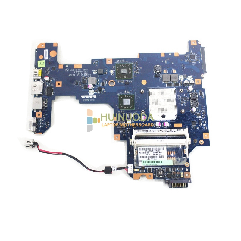 NOKOTION K000103970 LA-6053P laptop Motherboard Main Board for Toshiba L670D L675D S1 DDR3 ATI Mobility Radeon HD4200 free cpu