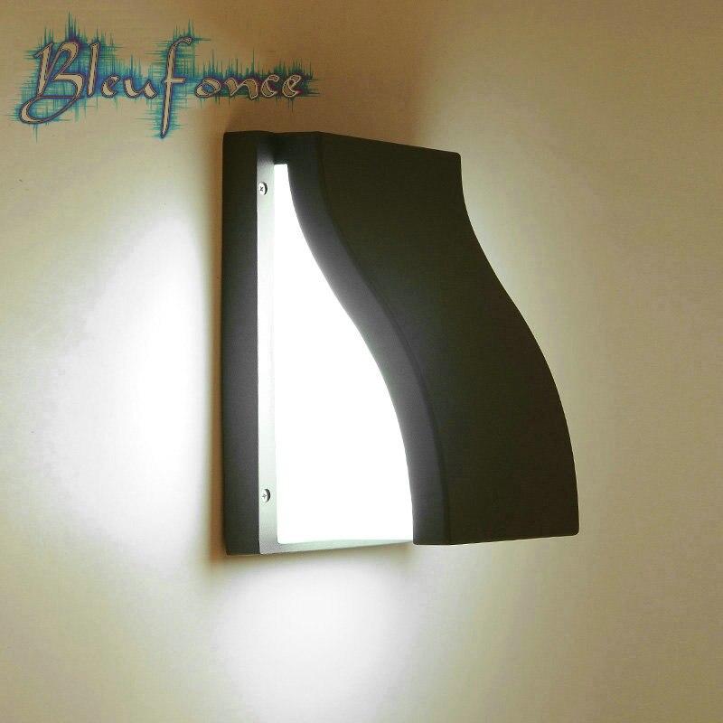 Modern Minimalist 16W LED Wall Lamp Patio Door Balcony Aisle Corridor Wall Light Waterproof Outdoor Garden Light Sconce<br><br>Aliexpress