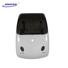 Small White GPRS SMS Thermal Receipt Printer for Food orders , Coffeeshops, Retail shops,Mobile payment(China)