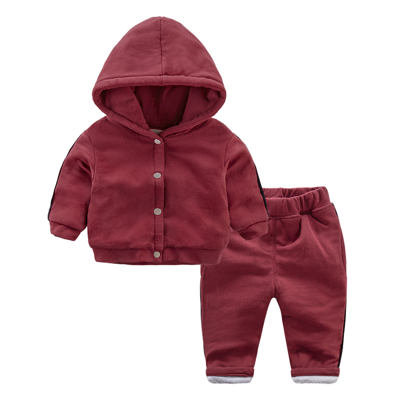 2018 Spring Autumn Boys Girls Clothes Set Cartoon Casual Sport Hoodied Suit Children Thickenign Warm Hooded Coats Pants Set 2-4T<br>
