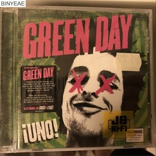 BINYEAE- new CD seal: Green Day - iUno! CD light disk [free shipping](China)