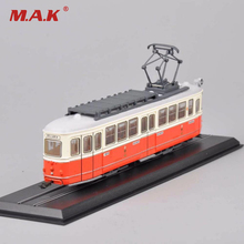 New Tram Diecast Car Model Toys 1/87 Scale C1 Nr.141 Simmering-Graz-Pauker-1957 Truck Bus Car Model Collections(China)