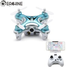 Eachine E10W Mini Wifi FPV With 720P Camera 2.4G 4CH 6 Axle LED RC Quadcopter RC Toys Mode2