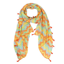 Beauty Fashion Paisley Scarf Women Tassel Shawl and Scaves Wrap Bufandas Cachecol Feminino Voile Scarf  Size 180*50cm No.12103
