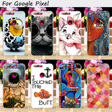 TAOYUNXI Plastic Mobile Phone Cover For HTC Nexus Sailfish HTC Pixel Google Pixel Nexus S1 Cases Cool Skull Cute Animal Shell