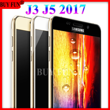 For Samsung J5 2017 Glas Screen Protector Tempered Glass For Samsung Galaxy J 3 J 5 2017 J3 J5 pro J530F J330F Film Case Cover(China)