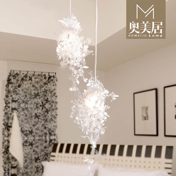 Ogilvy in phantom exquisite DIY lamp chandelier silhouette Light Chandelier Lamp Art flowers Wednesday<br><br>Aliexpress