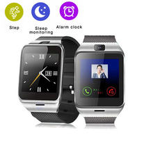 GV18 Bluetooth Smart Watch Remote Camera Video Recording SIM Phone Watch Sync Call Music Reminder Anti-lost for Android Phone(China)