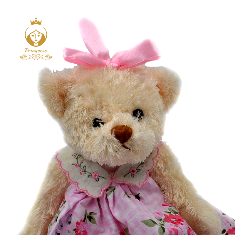 4-1PCS-30CM-wear-skirts-sweet-teddy-bear-plush-toys-cute-teddy-bear-soft-plush-dolls-baby