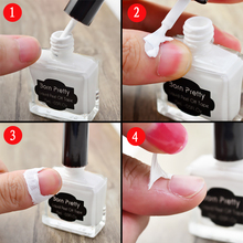 15ml Born Pretty White Peel Off Liquid Tape & Peel Off Nail Art Liquid Palisade Nail Art Latex Finger Protected NOT USED IN COLD