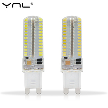 YNL 220V 240V SMD 3014 LED G9 Corn Light Bulb 3W 2W Super bright 360 degree Replace 30W Halogen Lamp mini candle spotlight