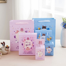 HAOCHU 20Pcs Baby Shower Candy Box Boy Girl Sweet Gift Favor Bag Pretty European Children 1St Birthday Party Decoration Guest(China)