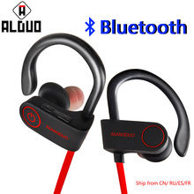 ALANGDUO G6 Bluetooth Earphone Waterproof Sport Wireless Headphones Running Bass Music Headset fone de ouvido for iphone 7(China)