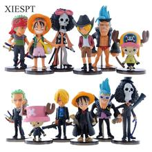 XIESPT Hot sale Cute Mini One Piece Figure PVC Action Figures brinquedos Collection Figures toys Free Shipping