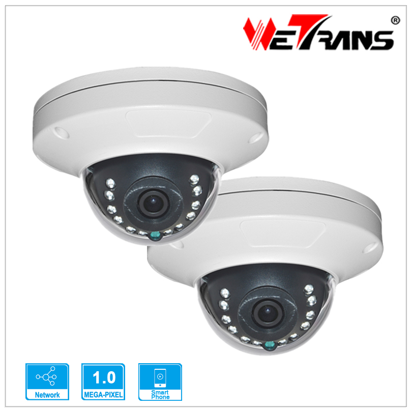 2pcs TR-EIPR116 CCTV Camera Smart Phone P2P H.264 Onvif Indoor Vandalproof 8m Night Vision 1280*720P 1Mega Pixel HD IP Camera<br><br>Aliexpress