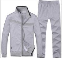 2017 Free Shipping New dotton Sports Set Men Designer Mens Sports Suit Brand Running Set Men Wholesale 3311-00