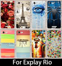 For Explay Rio Custom DIY 22 Stylish mobile phone case Hard back cover cell phone case skin hood shell Bags Hood